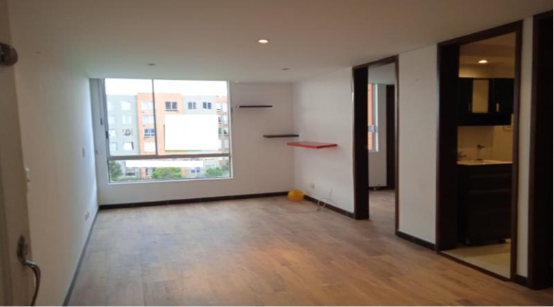 Encantador apartamento con excelente distribución, sala comedor, dos habitaciones, un baño, cocina integra, ventilación  iluminación natural.