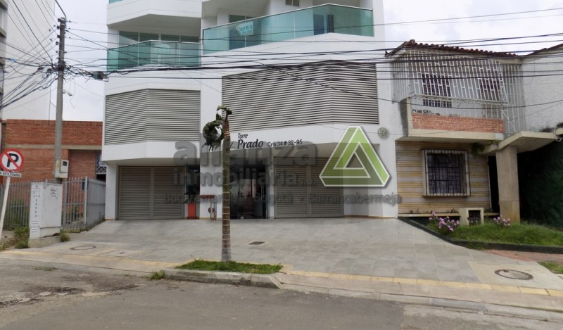 Barrio El Prado, excelente apartaestudio, sala comedor, 1 alcoba con closet, 1 baño, cocina integral, zona de ropas, 40.45 mts, ascensor, parqueadero, locker...
