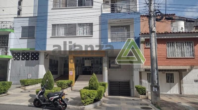 Apartaestudio San Alonso, 1 alcoba con closet, 1 baño, cocina integral, sala comedor, 28 mts, parqueadero cubierto...